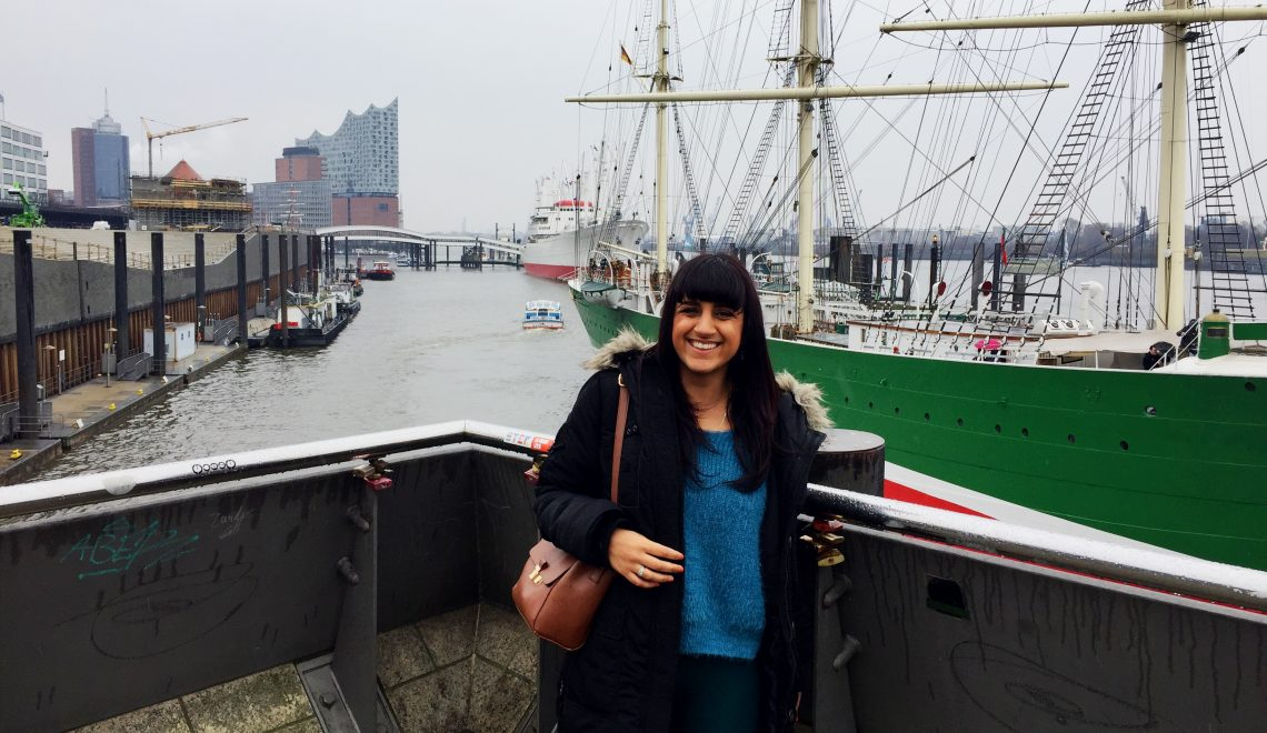 Exploring my new favourite German city with #ComeToHamburg