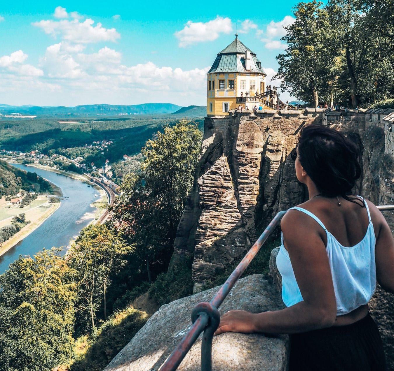 View from Königstein Fortress