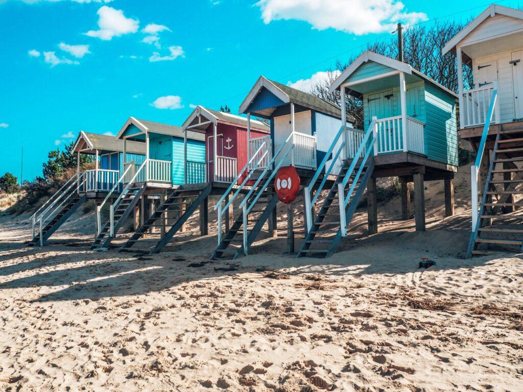 Well beachfront and beachhuts, Norfolk