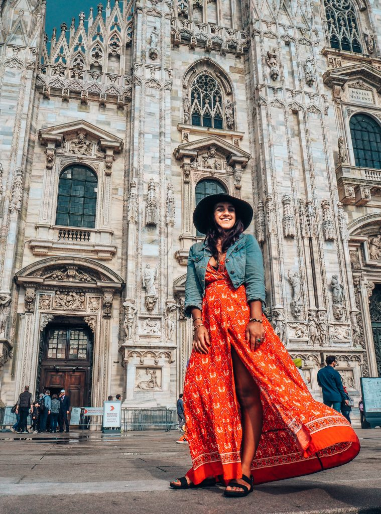 Absolutely Lucy in Milan