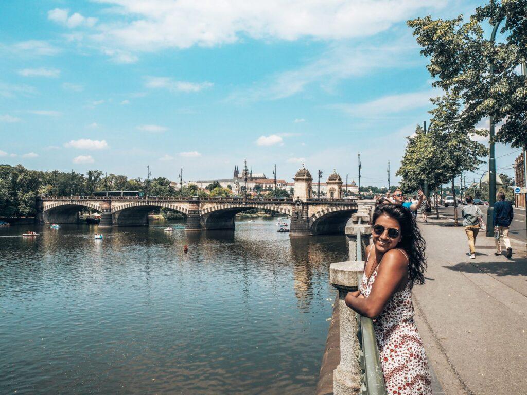 Prague rivers