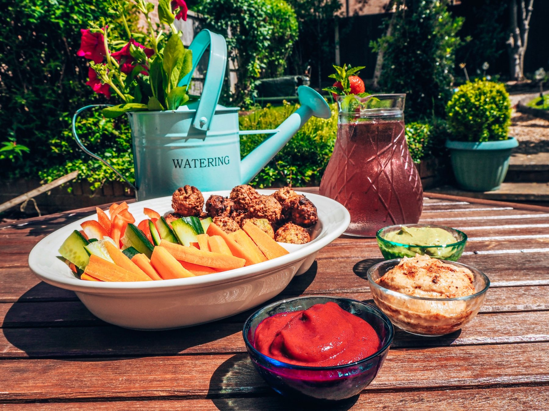 Vegan mezze platter dip recipes
