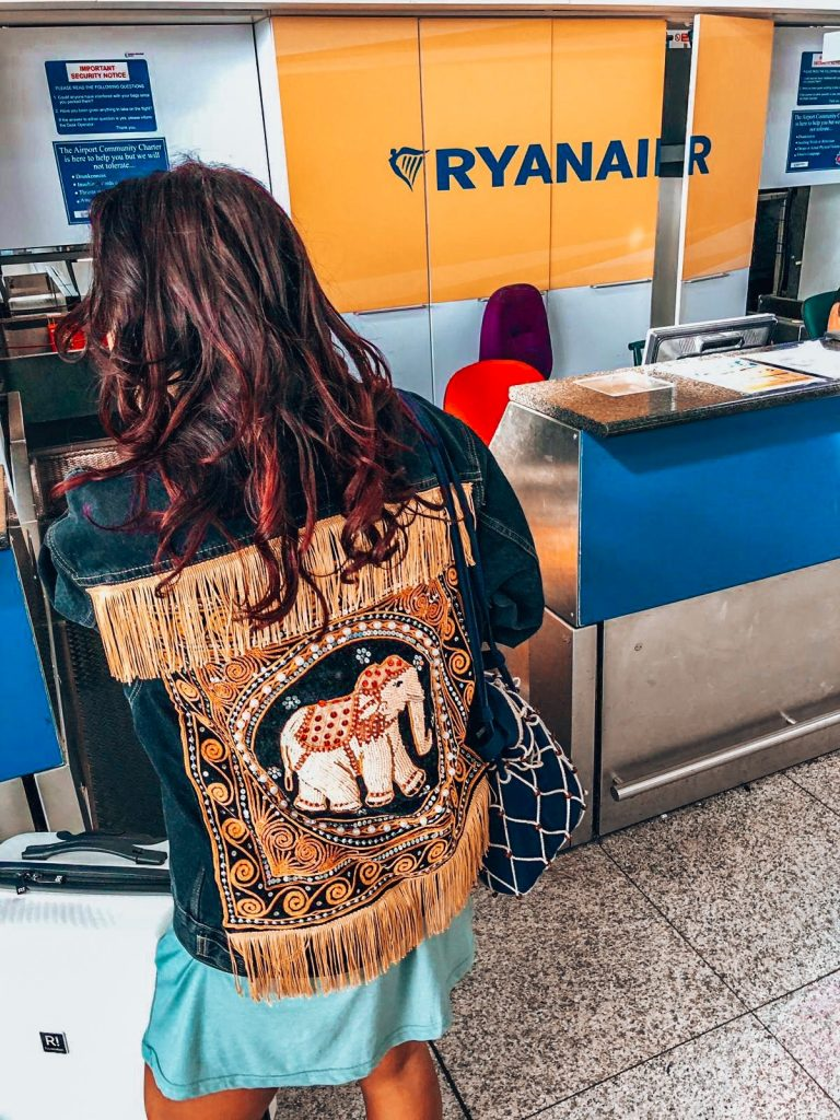 Absolutely Lucy checking in with Ryanair