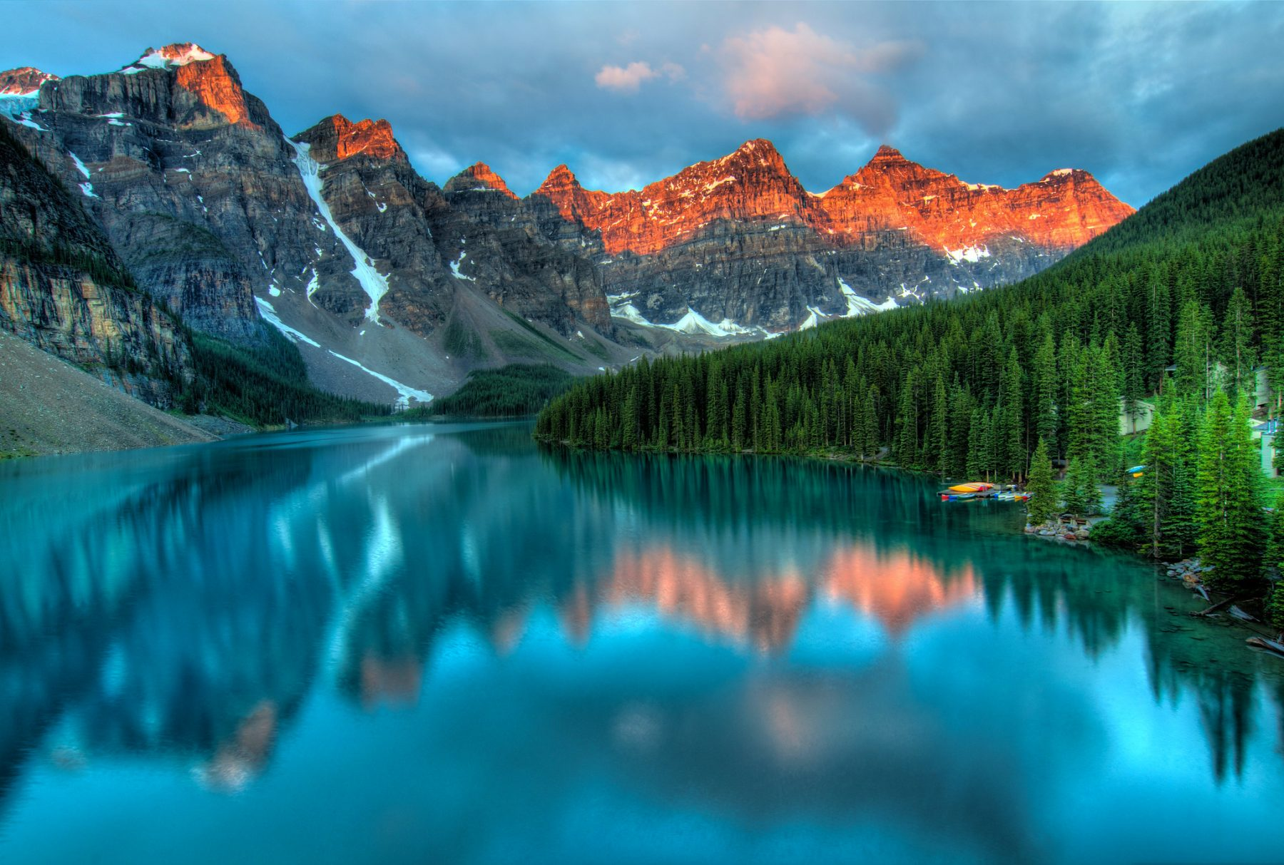 Moraine Lake Sunrise - James Wheeler