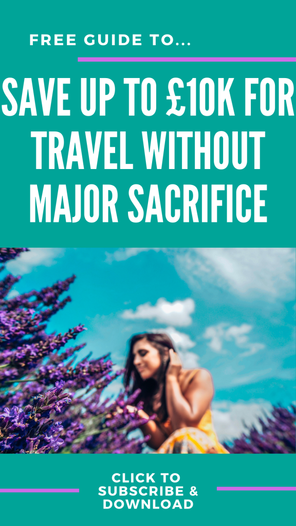 Free guide to saving for travel